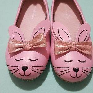 Chasing Fireflies pink bunny shoes 13